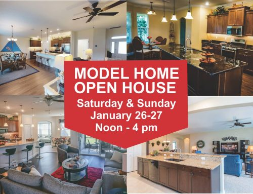 Model Home Open House Jan 26-27