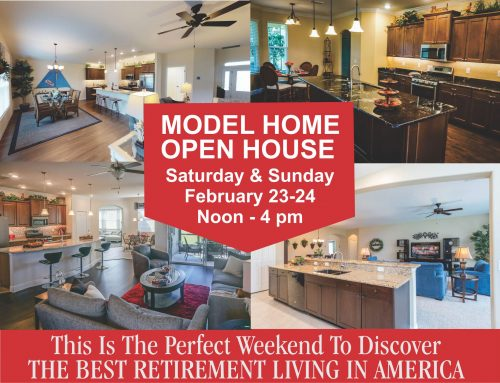 MODEL OPEN HOUSE THIS WEEKEND