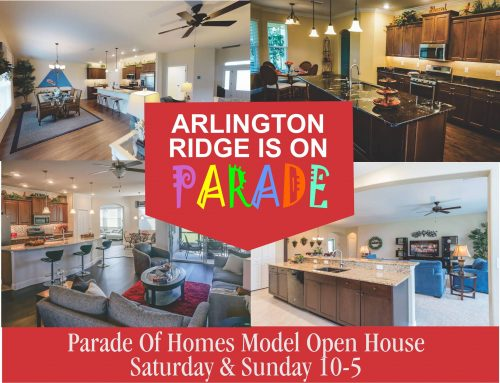 Don't miss this final opportunity to visit all of Arlington Ridge's beautiful model homes.